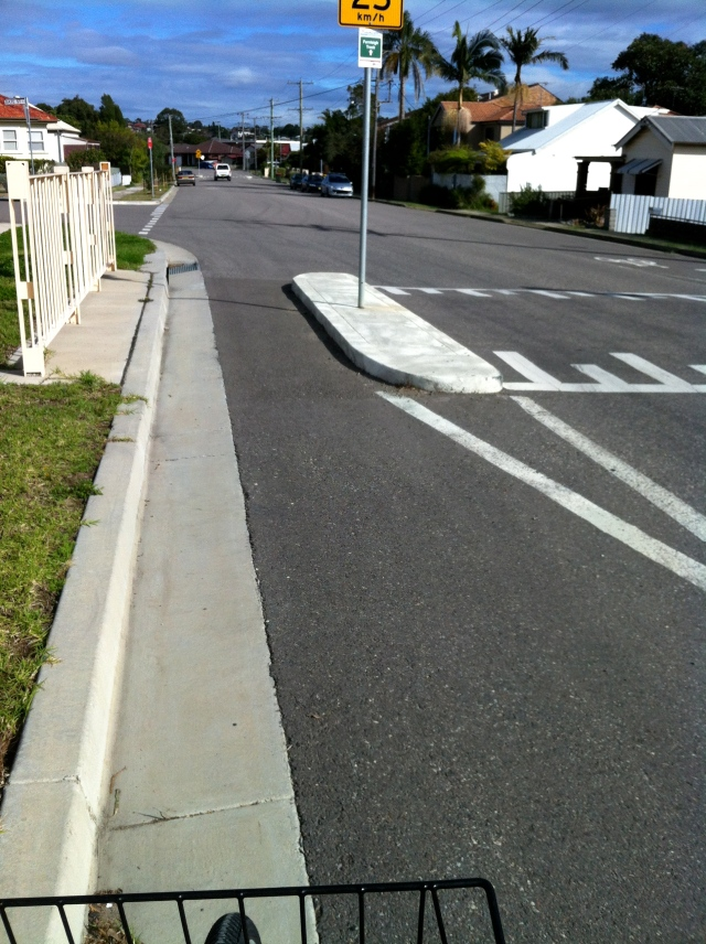 Adamstown speed hump