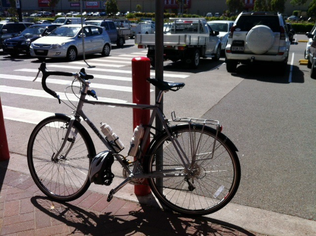 bicycle at Bunnings